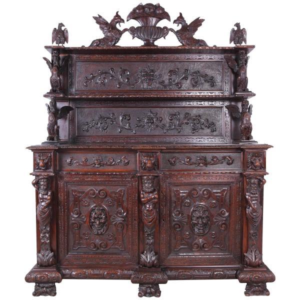 Italian Renaissance Revival Sideboard Late 19th Century