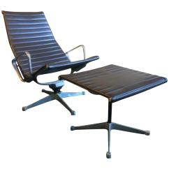 Eames Lounge Chair For Sale Swivel Natuzzi Early Vintage Aluminum Group And