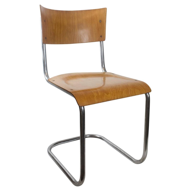 mart stam chair ergonomic rocking 20th century bauhaus tubular by for sale