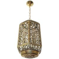 Large Pierced Filigree Brass Japanese Asian Ceiling ...