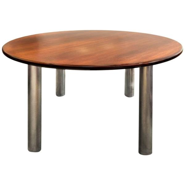 Walnut Conference Table 1990s 1stdibs