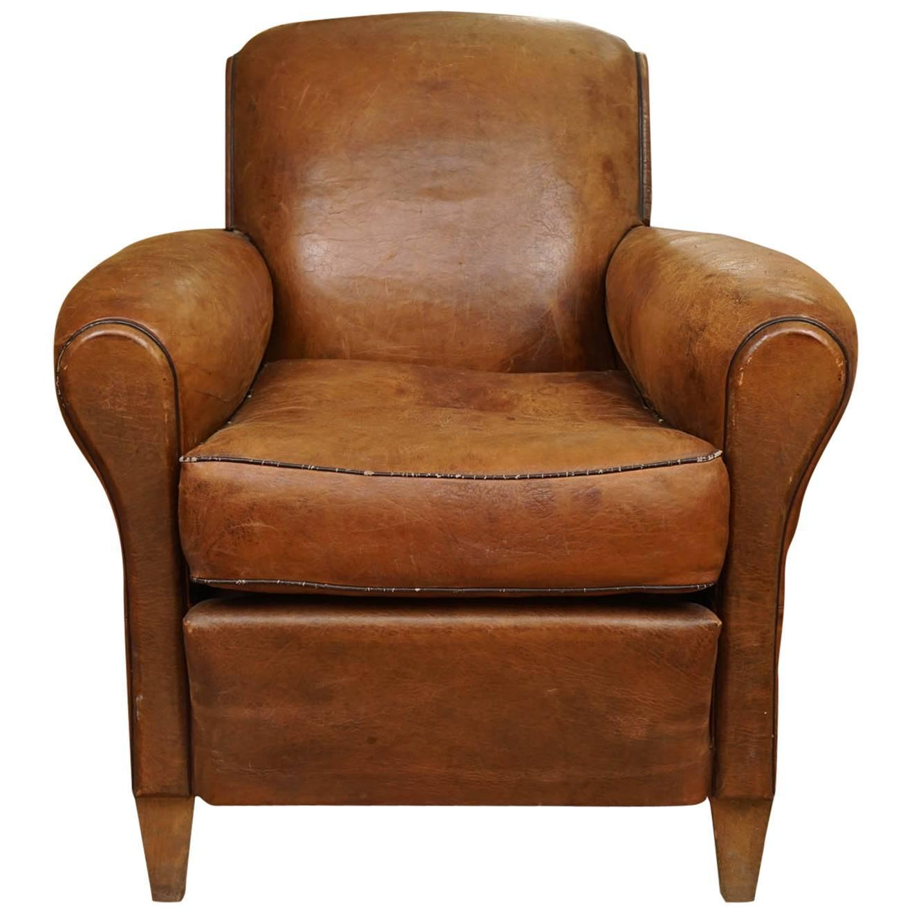 leather chairs for sale counter height outdoor club chair at 1stdibs