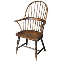 Antique 18th Century Ash and Elm Windsor Chair For Sale at ...