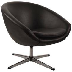 Swivel Pod Chair Tommy Hilfiger Black By Overman For Sale At 1stdibs Single