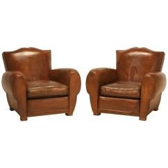Leather Club Chairs For Sale Ikea Linen Chair Covers French Classic Moustache At