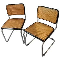 Marcel Breuer Chair Original Swing Garden Uk Vintage Set Of Cesca Chairs For