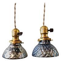 Blue Mercury Glass Pendant Lights - Lights Design Ideas