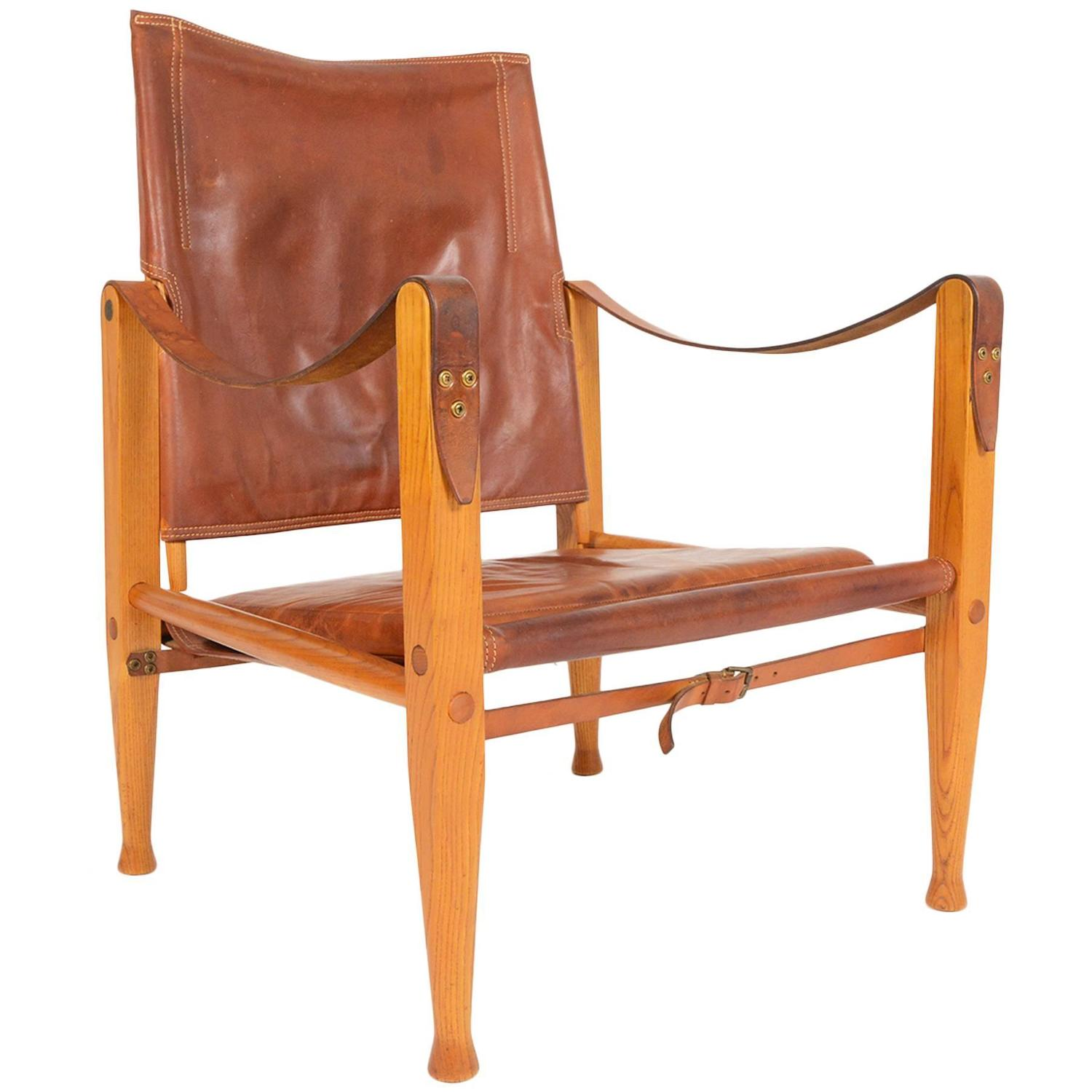 Safari Chair Kaare Klint Safari Chair For Sale At 1stdibs