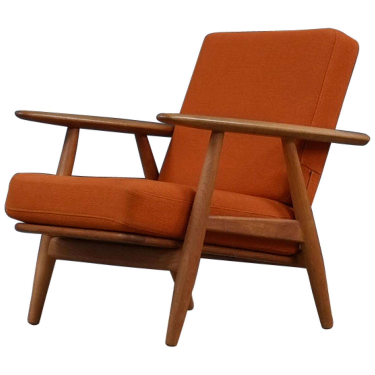 Cigar Lounge Chairs Hans Wegner Cigar Chair At 1stdibs