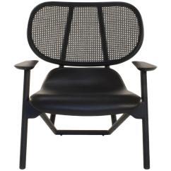 Swing Chair Patricia Urquiola Replacement Feet Wood Moroso Black Klara Lounge Armchair By