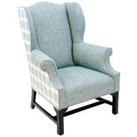 Hepplewhite Wing Chair For Sale at 1stdibs