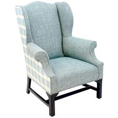 Wingback Chair For Sale How To Make Bean Bag Vintage Wing Newly Upholstered At 1stdibs