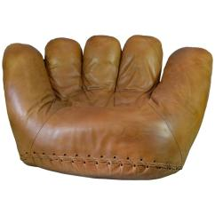 Sofa Set For Living Room Design Extra Small Apartment Ideas Joe Baseball Glove Lounge Chair At 1stdibs