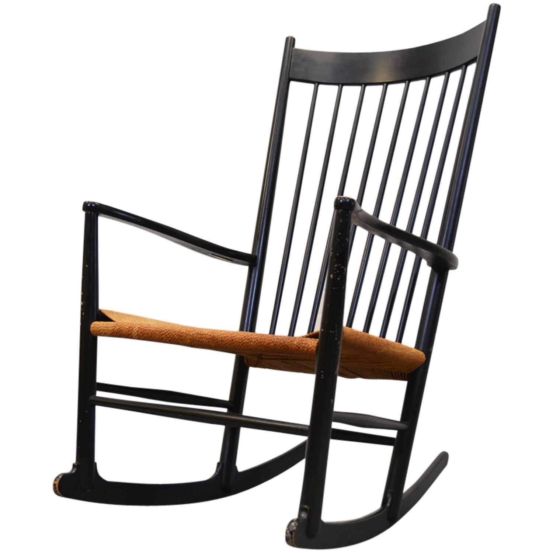 hans wegner rocking chair lidl fishing j16 j for sale at 1stdibs