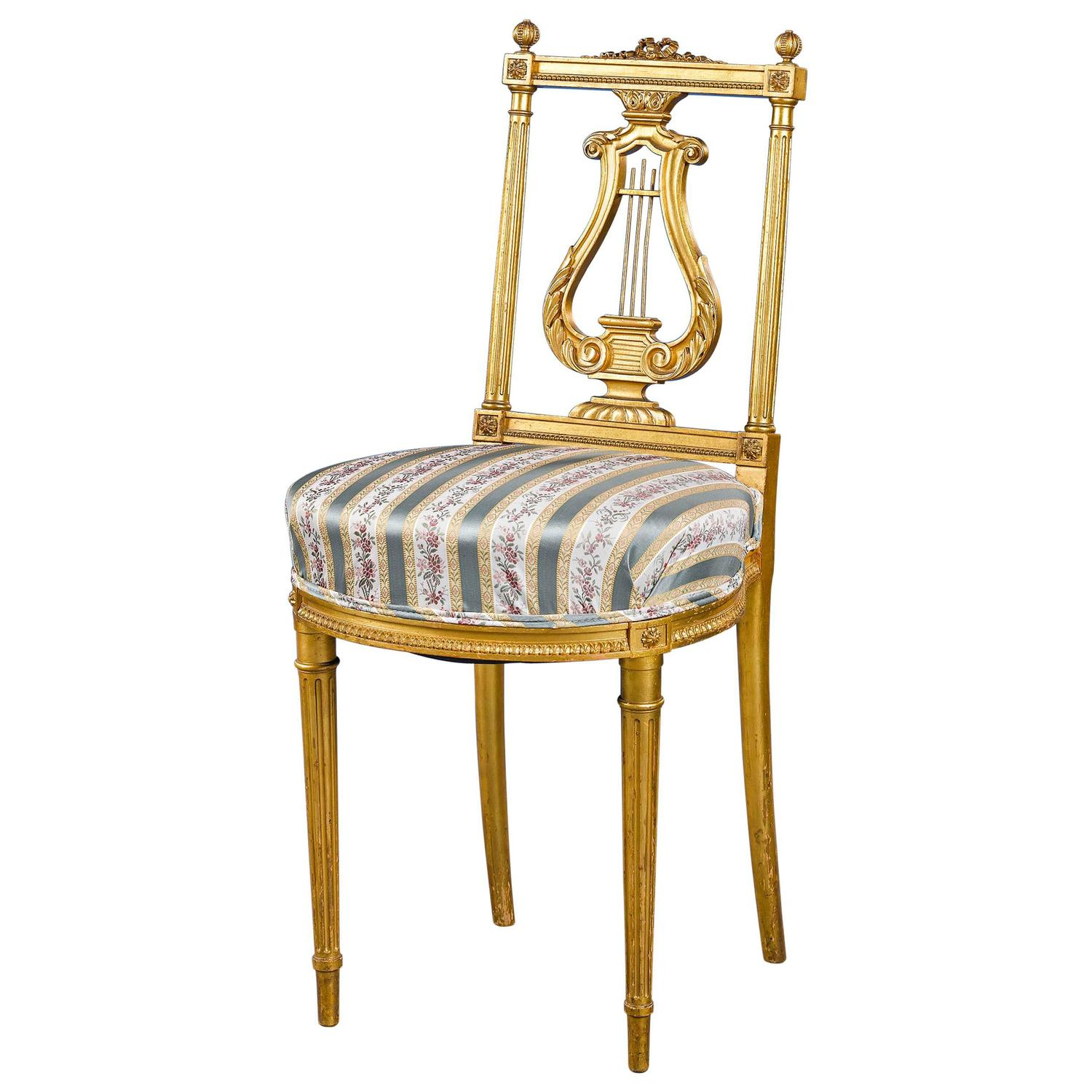 Music Chair Louis Xvi Style Music Chair For Sale At 1stdibs