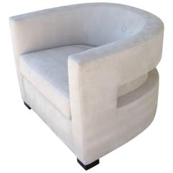 Most Unusual Chairs Chair Covers Rental Okc Club With Back Cut Out For Sale At 1stdibs