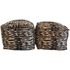 Zebra Print Chairs For Sale Bloom Fresco High Chair Replacement Seat Pad Ottomans At 1stdibs