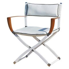 Director Chairs For Sale Patio Dining Chair Gosling Marine 39s At 1stdibs