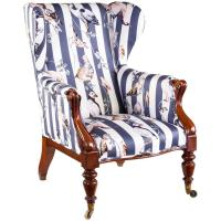Victorian Armchair Upholstered in House of Hackney's ...