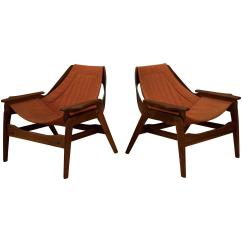 Sling Chairs For Sale Forest Dental Chair Mid Century Jerry Johnson Walnut At