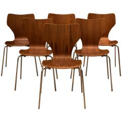 Stackable Dining Room Chairs Ghost Singapore Danish Teak Stacking At 1stdibs