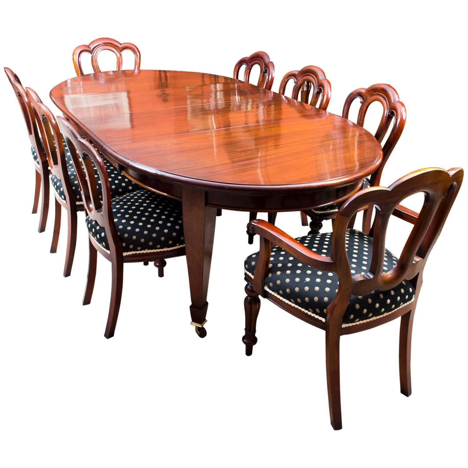 chair for dining table hammock stand nz antique edwardian eight chairs circa 1900 at