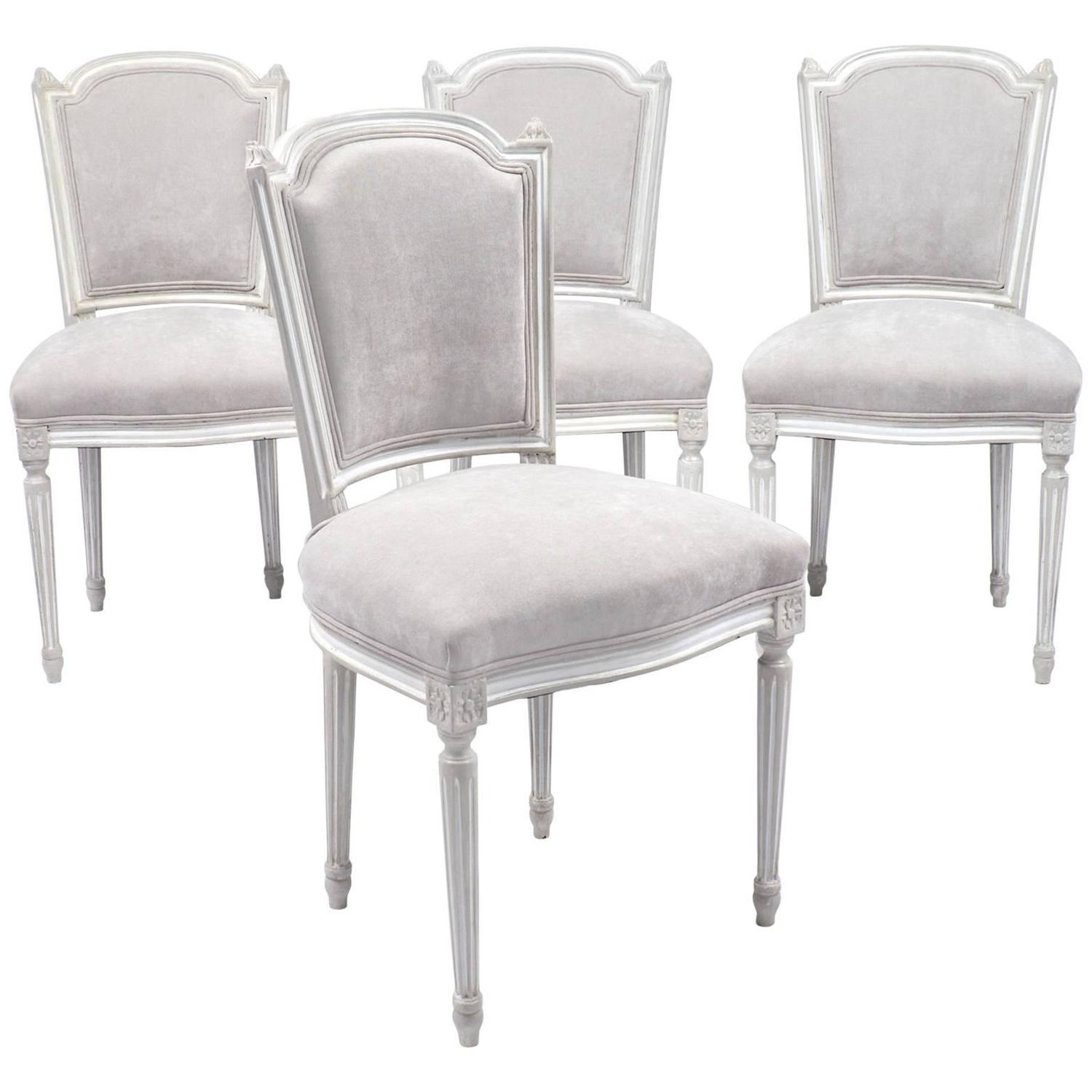 louis dining chairs antique arm chair set of four xvi at 1stdibs