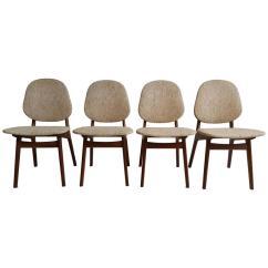 Danish Modern Dining Chair Bedroom Sitting Room Chairs Elegant By Arne Hovmand Olsen For Sale