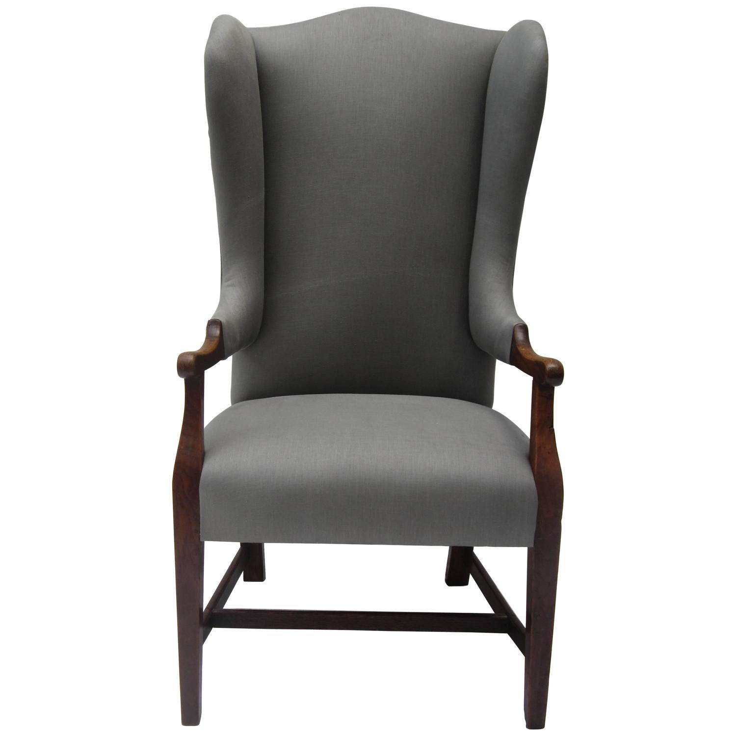 Petite Chairs 19th Century Petite Wing Chair At 1stdibs