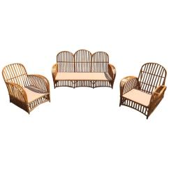 Heywood Wakefield Wicker Chairs Diy Bean Bag Chair Tutorial Antique Stick Set For Sale At 1stdibs