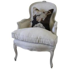 Bergere Chairs For Sale Dining Chair Covers Spotlight Australia Antique Country French Painted In The Louis