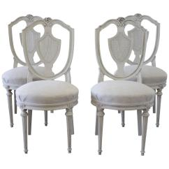 Cane Chairs For Sale Bedroom Tub Chair Set Of Four Antique French Dining At