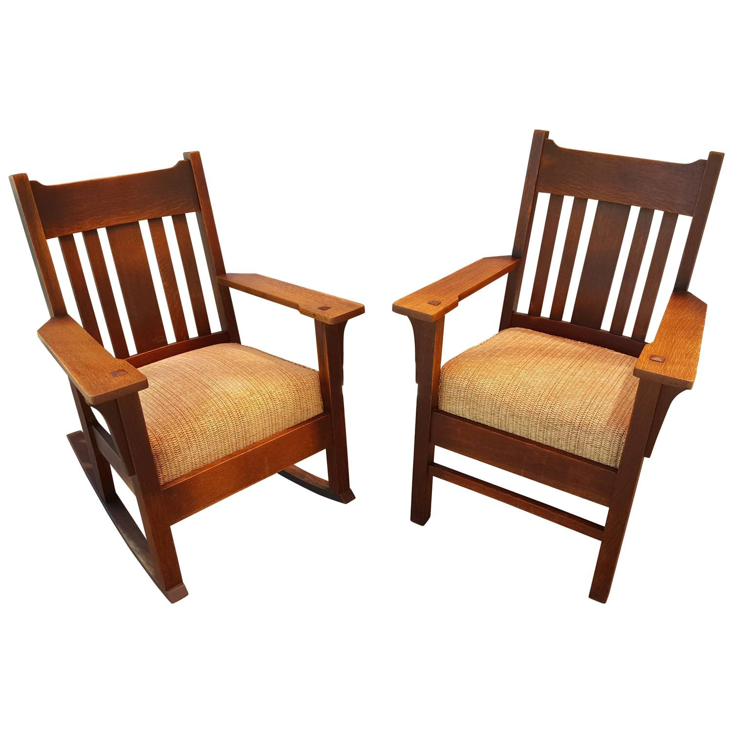 mission chairs for sale gym ball chair arts and crafts rocker armchair by harden