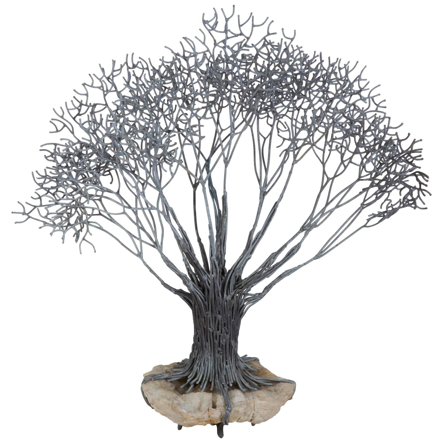 Large Bronze Tree Sculpture For Sale At 1stdibs