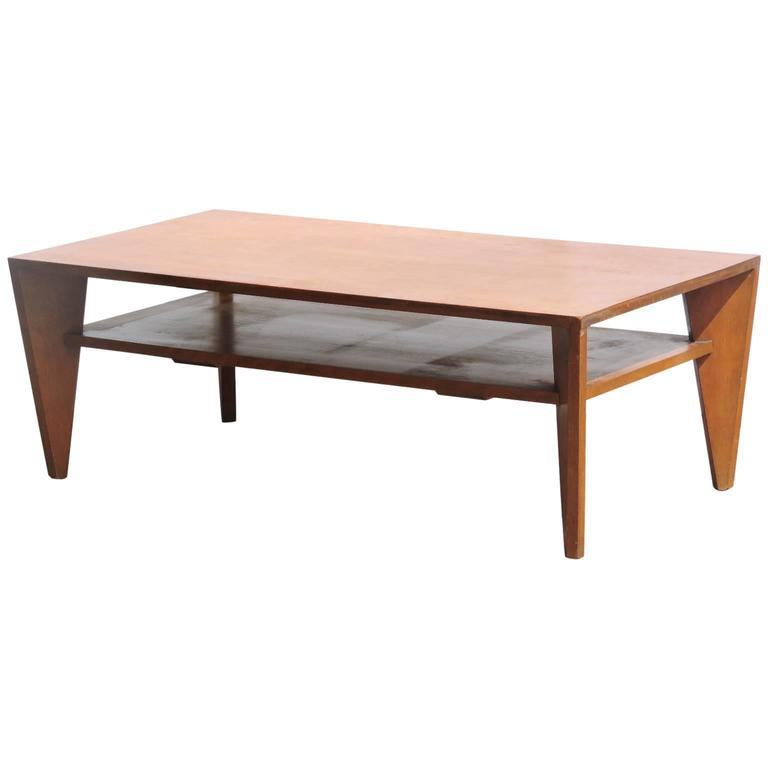 American Modern Coffee Table by Russel Wright for Conant