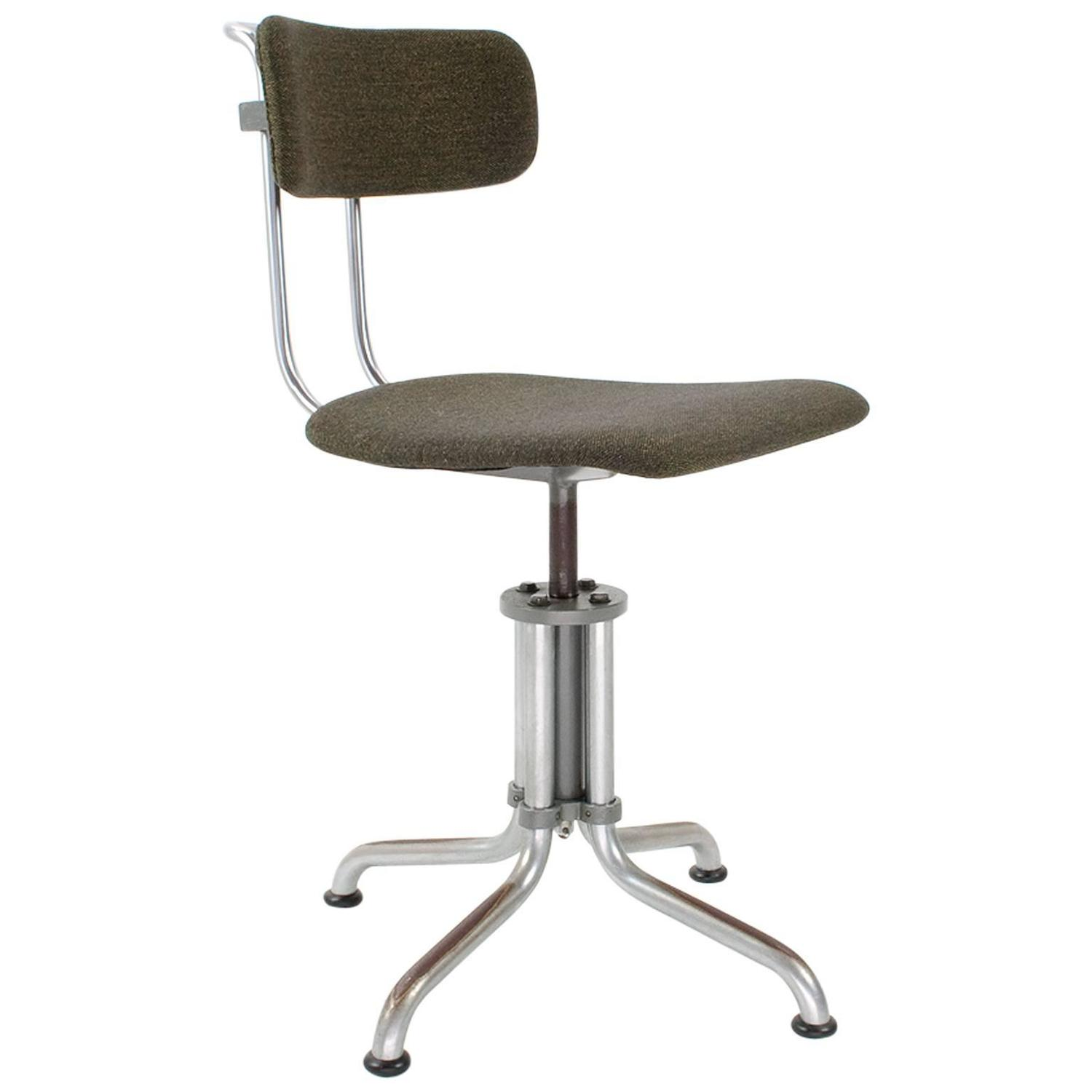 swivel chair feet execution electric for sale 1933 mid century dutch office with foot model