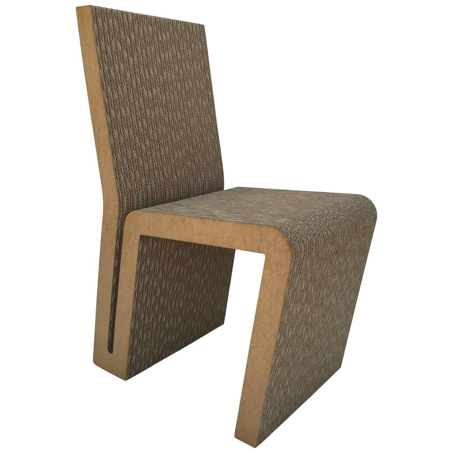 frank gehry cardboard chair mickey mouse recliner easy edges side by for sale at