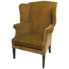 Armchair Meaning Replica Jens Risom Style Lounge Chair 18th Century American Wingback For Sale At 1stdibs