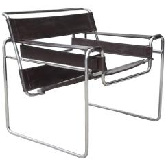 Marcel Breuer Chair Best Nursery Rocking Chairs 2018 Vintage Wassily Chrome And Leather For