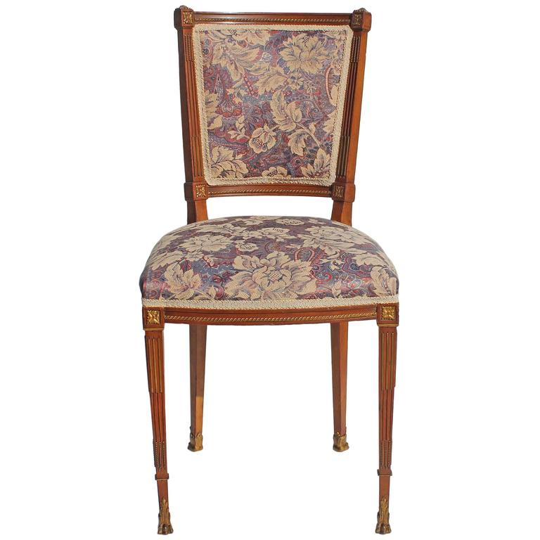French Side Chair at 1stdibs