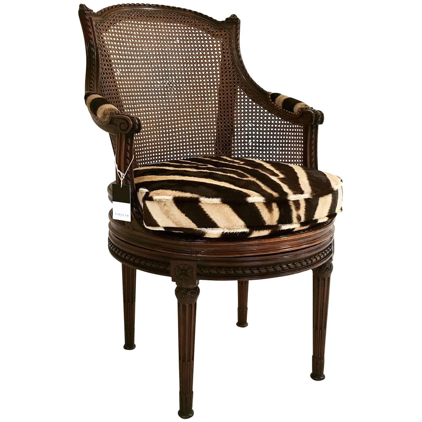 where can i buy cane for chairs ergonomic chair calgary 18th century french georges jacob mahogany and swivel