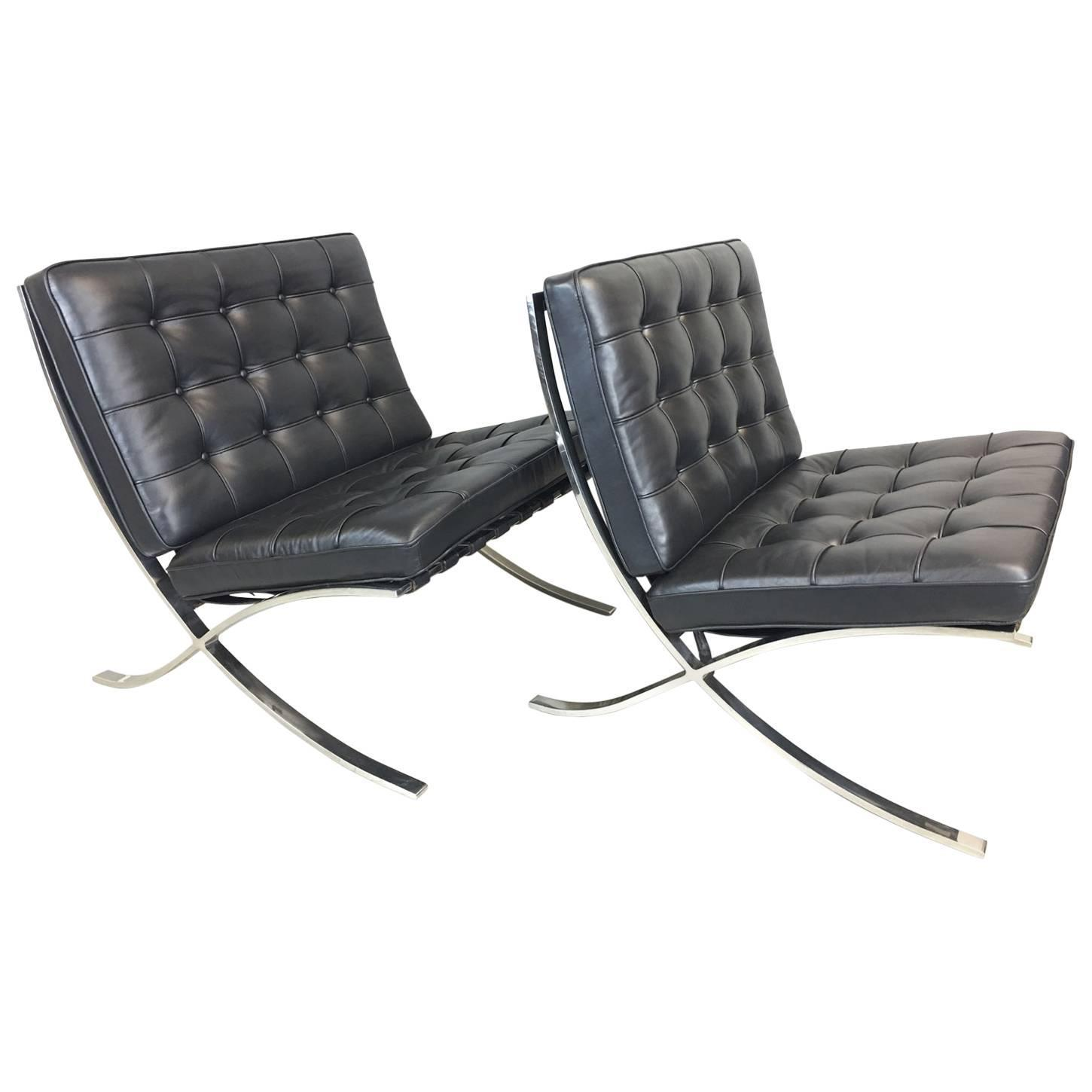 Barcelona Lounge Chair Barcelona Lounge Chair By Mies Van Der Rohe For Sale At