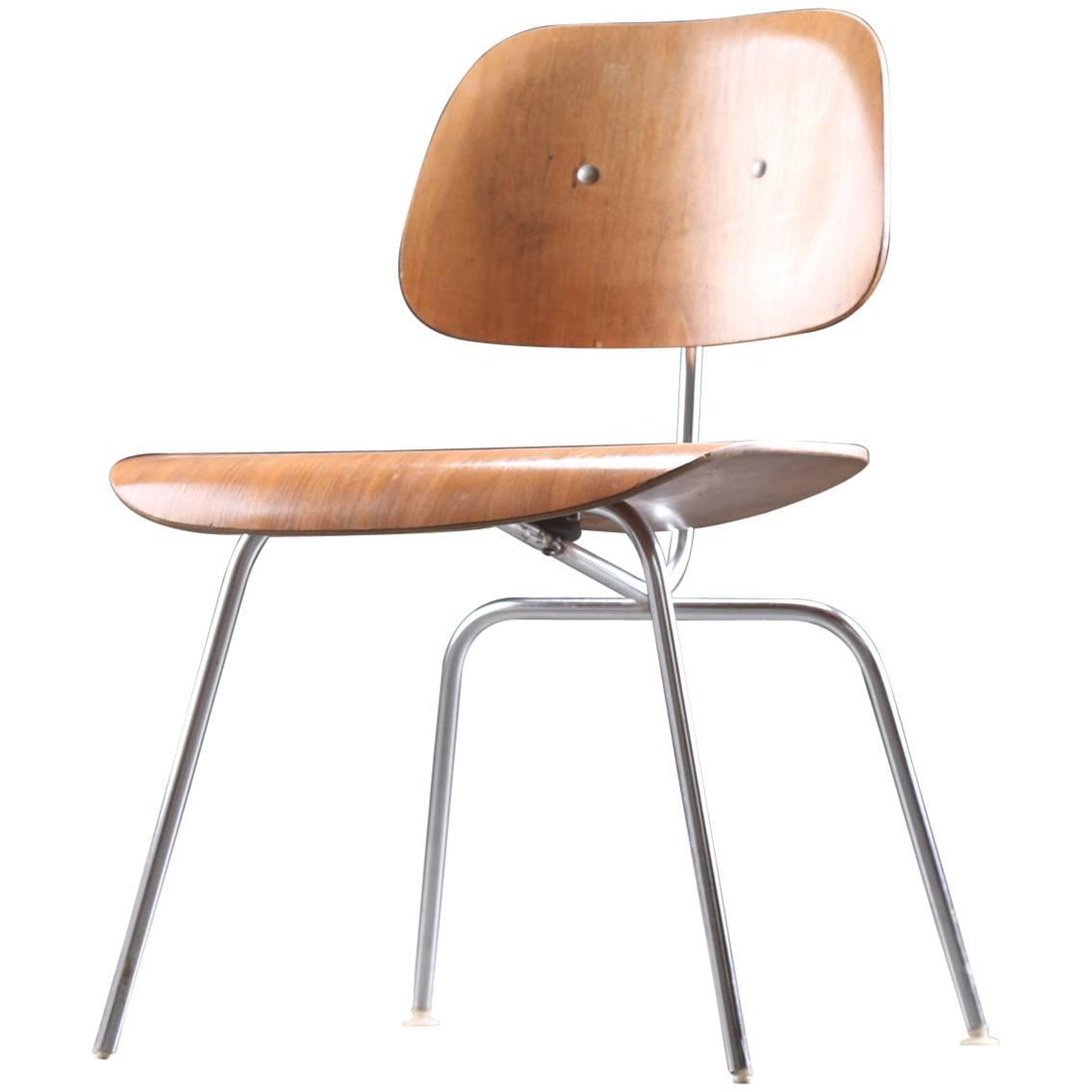 eames dining chair yoga certification ontario charles dcm for sale at 1stdibs