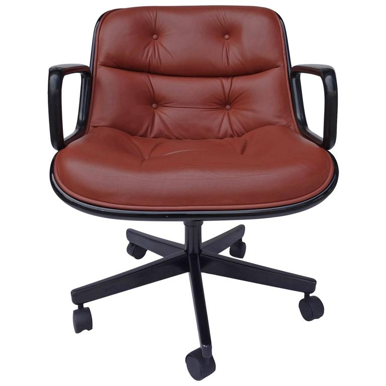 pollock executive chair replica office home depot by charles for knoll at 1stdibs sale