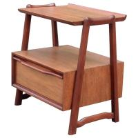Sculptural Side Table or Nightstand at 1stdibs