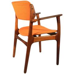 Erik Buck Chairs Fishing Chair Fox Rosewood Armchair For O D Møbler A S Demark