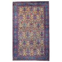 Very Rare Antique Rugs, Persian Carpet Tehran Rug For Sale ...
