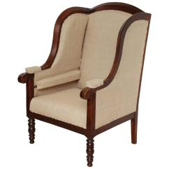 Wingback Chair For Sale Modern White Rocking Early 19th Century French Walnut Upholstered Wing
