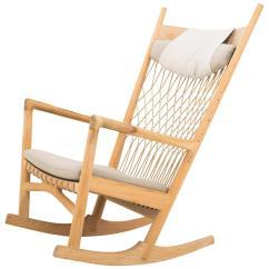 Hans Wegner Rocking Chair Pool Spectator J For Sale At 1stdibs