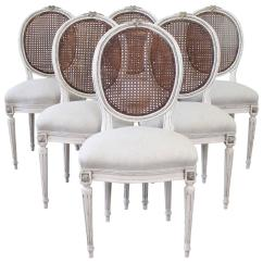 Cane Back Chairs For Sale Kailyn Chair Stand Set Of Six 19th Century French Louis Xvi Dining At 1stdibs